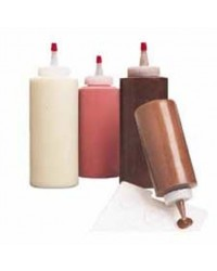 image: Cookie Chocolate or Icing Decorating Squeeze Bottle Wilton