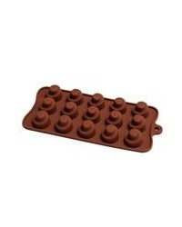 image: Swirl Deep Fill silicone chocolate mould