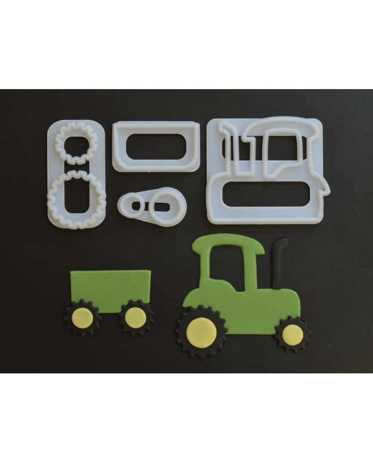 image: FMM Tractor vehicle cutter set