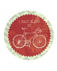 image: Edible Image I Want To Ride My Bicycle