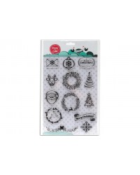 image: Stamp a Cake Christmas Joy Stamp Set