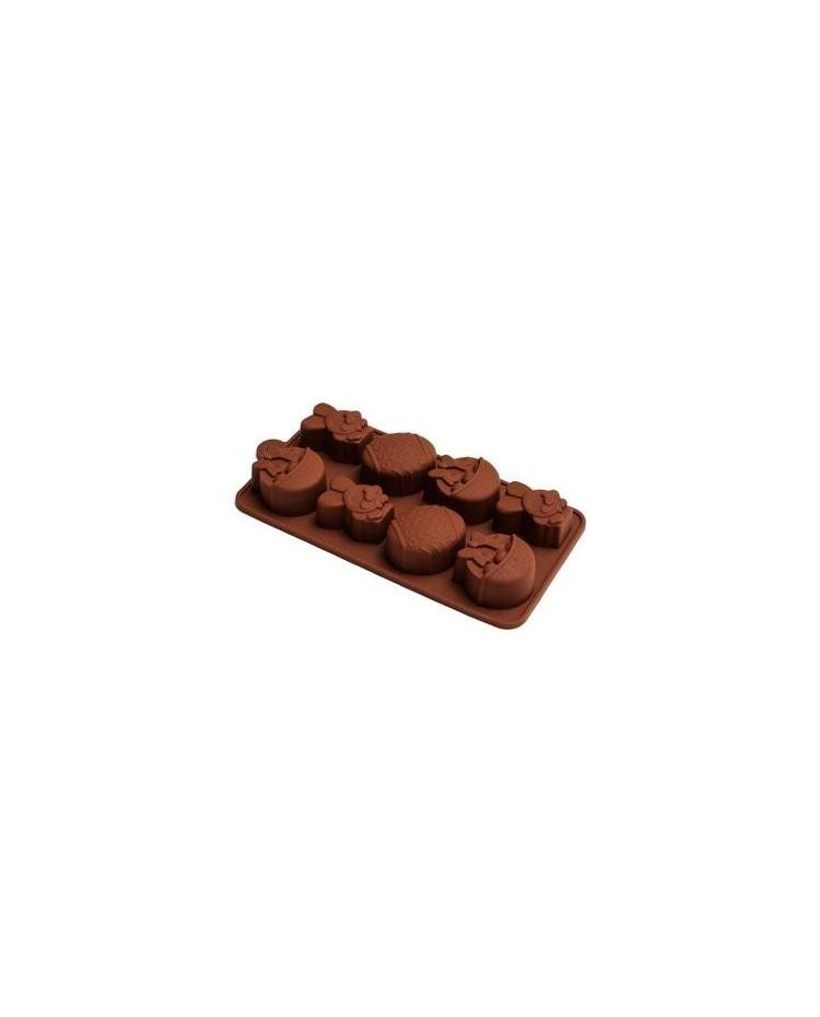 image: Easter Silicone Chocolate mould 8 cavity
