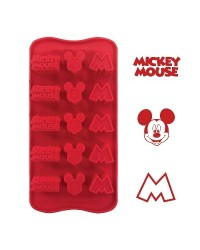 image: Silicone Chocolate mould Mickey Mouse (for icing too)