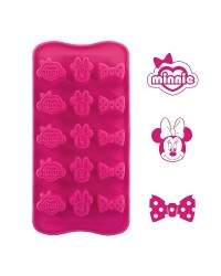 image: Silicone Chocolate mould Minnie Mouse (for icing too)