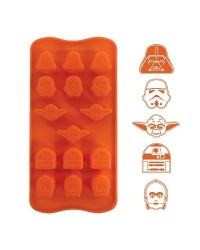 image: Silicone Chocolate mould Star Wars (for icing too)