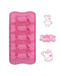 image: Silicone Chocolate mould Peppa Pig (for icing too)