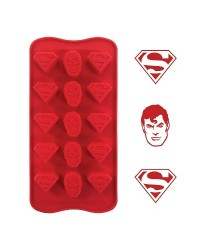 image: Silicone Chocolate mould Superman (for icing too)
