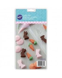 image: Easter Mini Bunny & Carrots chocolate mould BUNNIES