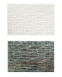 image: Stone Wall impression mat silicone mould