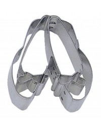 image: Pair slippers cookie cutter Suit ballet or Dorothy Wizard of OZ