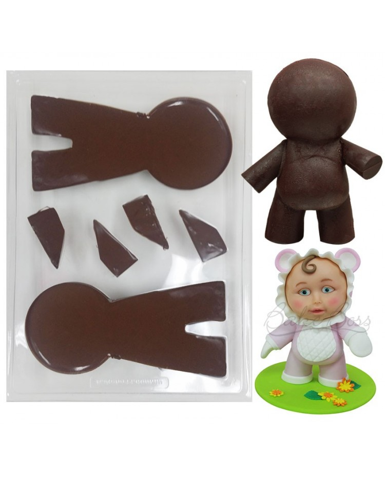 image: Mini Boss Boss man chocolate mould