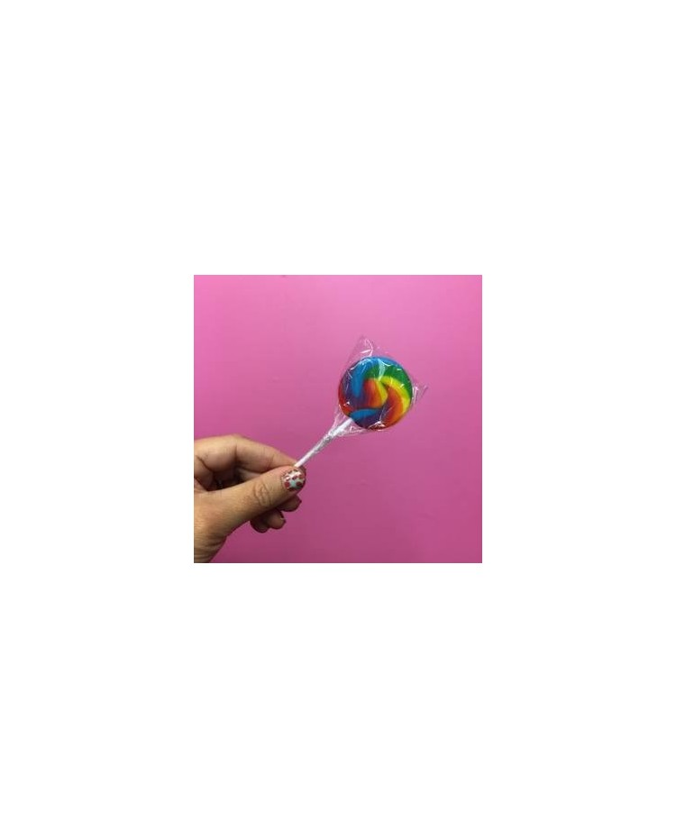 image: Rainbow Swirly lollipop Small (great for drip cakes)