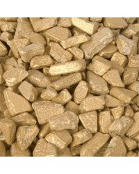 image: Metallic gold chocolate candy rocks nuggets 100g