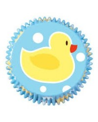 image: Rubber Ducky standard cupcake papers #1