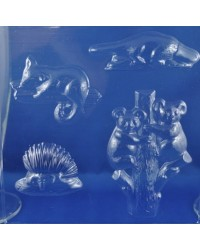 image: Australian animals chocolate mould Koala Echidna Possum Platypus