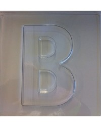 image: Jumbo Letter alphabet Chocolate Mould B