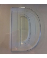 image: Jumbo Letter alphabet Chocolate Mould D