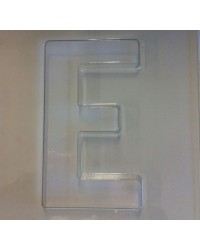 image: Jumbo Letter alphabet Chocolate Mould E