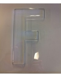 image: Jumbo Letter alphabet Chocolate Mould F