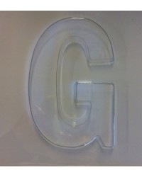 image: Jumbo Letter alphabet Chocolate Mould G