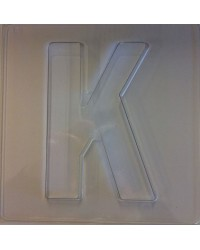 image: Jumbo Letter alphabet Chocolate Mould K
