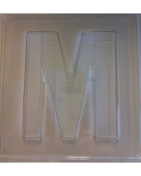 image: Jumbo Letter alphabet Chocolate Mould M