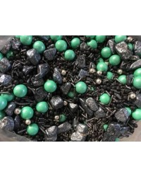 image: Sprinkle Medley Meteor 150g (black, silver turquoise)