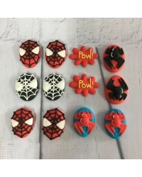 image: Sugar Icing decorations Spiderman (12)