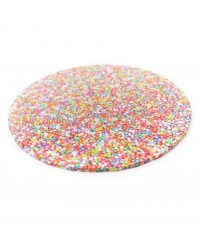 "image: Sprinkles Non Pareils Finish Masonite Cake board 14"" round"