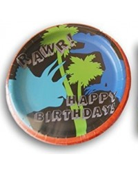 image: Dinosaur party plates (8)