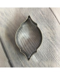 image: Moroccan tile stainless steel cutter #2 Oblong