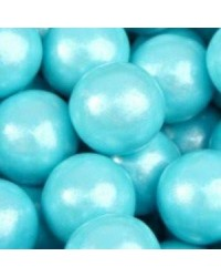 image: Giant blue shimmer gumballs (great for drip cakes) pack 10