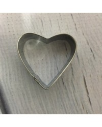 image: Mini stainless steel heart cutter #1