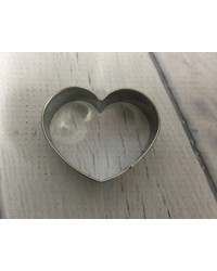 image: Mini stainless steel heart cutter #2