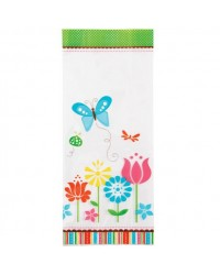 image: Treat bags Modern Garden butterfly & flowers PK 20
