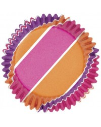 image: Colourcups foil (no grease cupcake papers) Pink Purple Orange #2