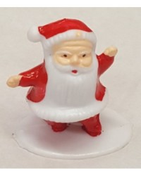 image: Santa 3d standing cake topper on base