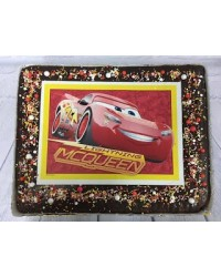 image: Custom decorated slab cake in store pick up only option 1