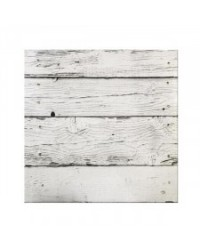 "image: White Planks (woodgrain) White Masonite Cake board 12"" square"