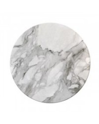 "image: Marble Finish White Masonite Cake board 14"" round #1"