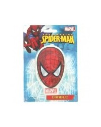 image: Spiderman flat candle (Spiderman face)