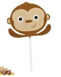 image: Monkey cupcake picks Wilton (24)