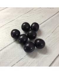 image: 18mm Eggplant Purple chocolate balls or pearls hard shell candy