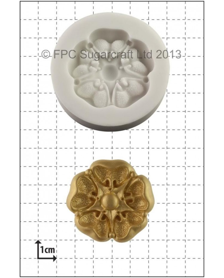 image: Tudor Rose silicone mould