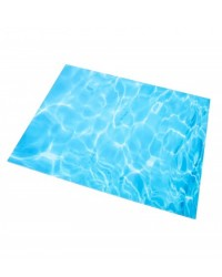 "image: Rectangular rectangle WATER cake board 45x35cm (aprx 18x14"")"