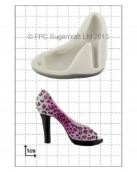 image: High Heel Shoe - PEEP TOE - silicone mould
