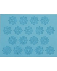 image: Gobake large lace mat Alice Snowflakes or doilies