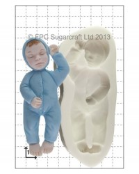 image: Sleeping Baby silicone mould