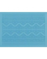 $5 silicone Lace mat special Borders Limit 1 per person Was $49.95
