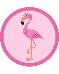 Edible icing image Pink Flamingo